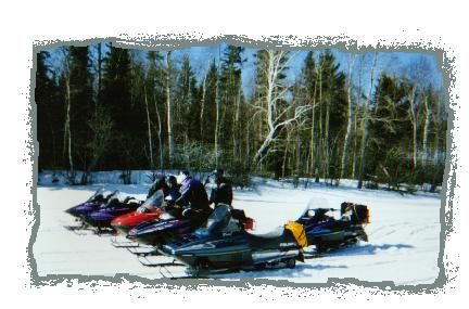 Great Snowmobile Trails